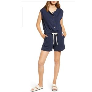Nash Signaturesoft Front Button Sleeveless Romper